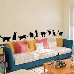 צלליות חתולים