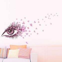 עין ופרפרים