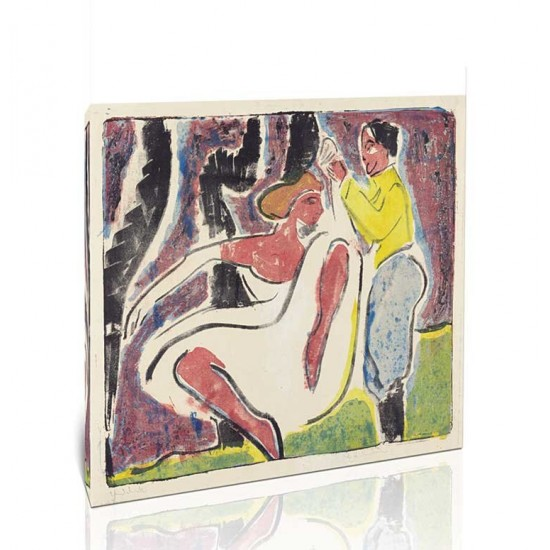 Ernst Ludwig Kirchner - Russian Dancers, 1909