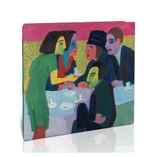 Ernst Ludwig Kirchner - Scene at a Café, ca. 1926