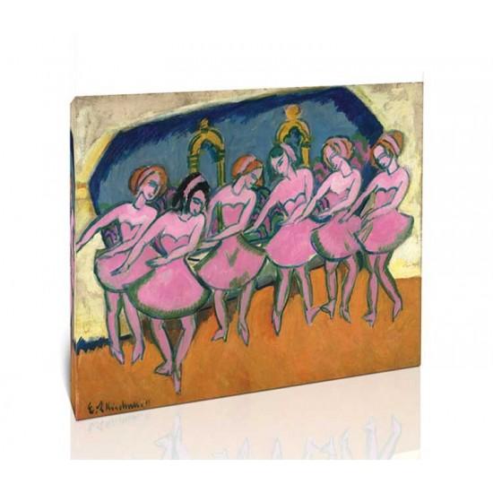 Ernst Ludwig Kirchner - Six Dancers, 1911