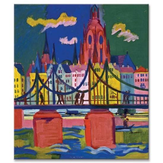 Ernst Ludwig Kirchner - The Frankfurt Cathedral, 1926
