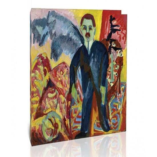 Ernst Ludwig Kirchner - The Nurse, 1917