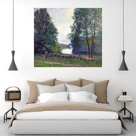 עיקול בנהר לואן, קיץ