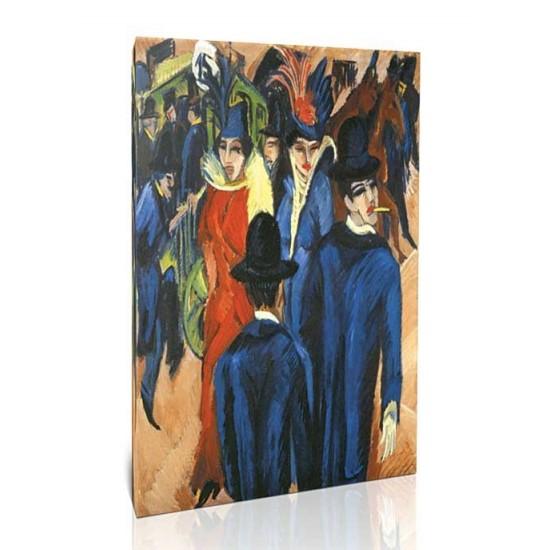 Ernst Ludwig Kirchner - Berlin Street Scene