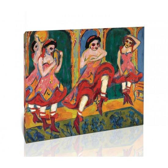 Ernst Ludwig Kirchner - Czardas Dancers