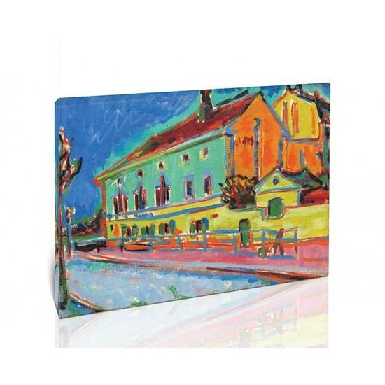 Ernst Ludwig Kirchner - Dance Hall Bellevue, 1909