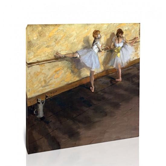 רקדניות מתאמנות על הבר