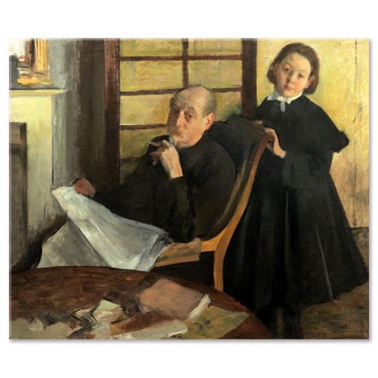 אנרי דגה ואחייניתו לוסי דגה