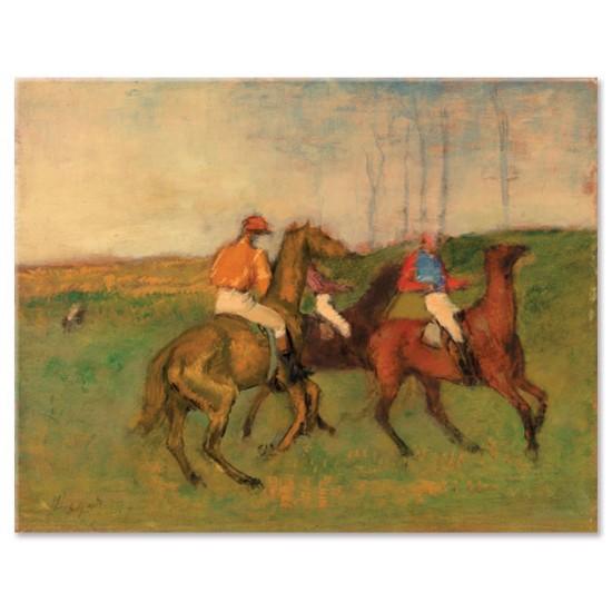רוכבים וסוסי מירוץ
