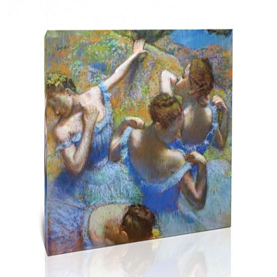 רקדניות בכחול
