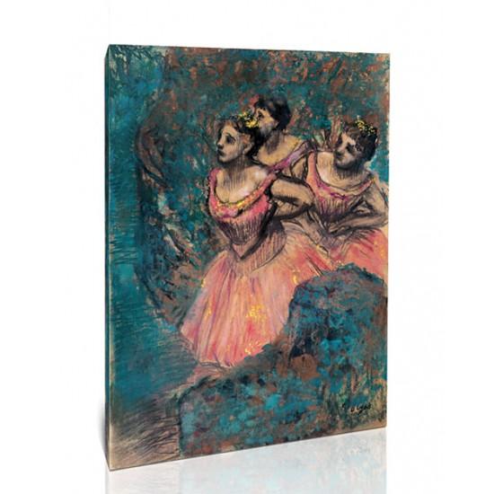 שלוש רקדניות בתלבושות אדומות