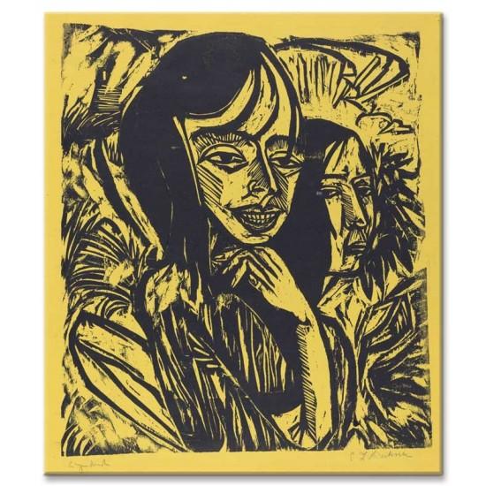 Ernst Ludwig Kirchner - Fehmarn Girls, 1913