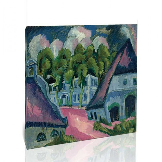 Ernst Ludwig Kirchner - Gut Staberhof iii, 1913