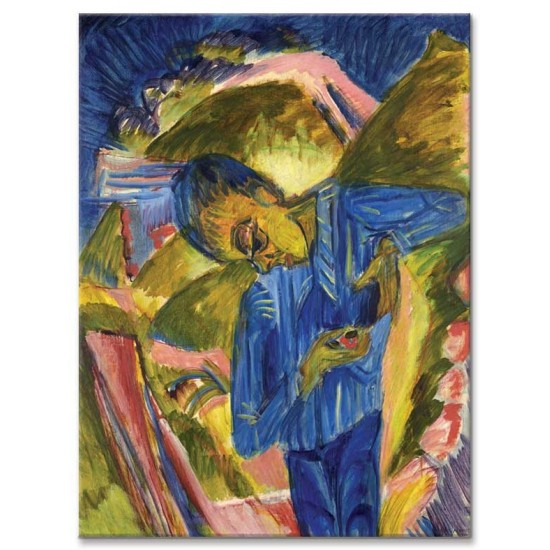 Ernst Ludwig Kirchner - Boy With Sweets 1918