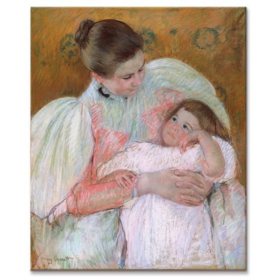 אחות מקריאה לילדה קטנה