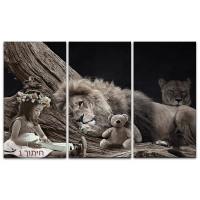 האריה והילדה