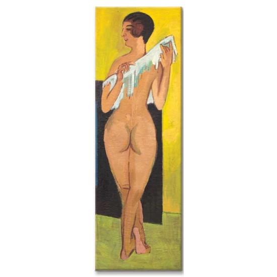 Ernst Ludwig Kirchner - Nude Figure, 1907