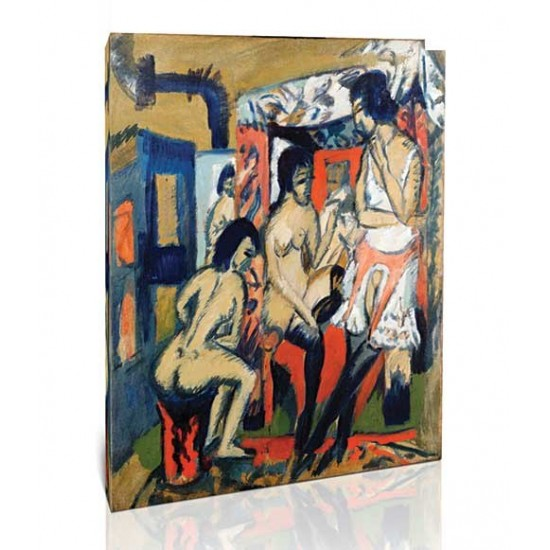 Ernst Ludwig Kirchner - Nudes in Studio