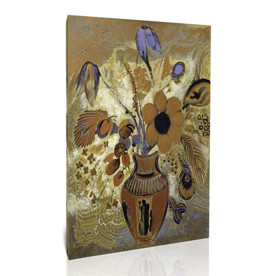אגרטל אטרוסקני עם פרחים