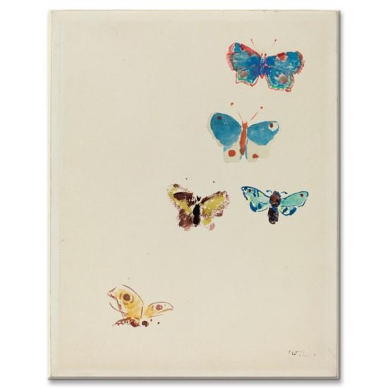 חמישה פרפרים