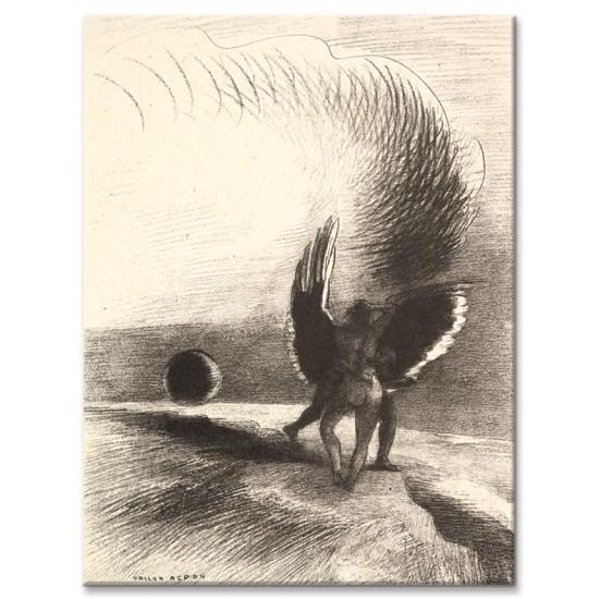 בצל הכנף, היצור השחור נשך