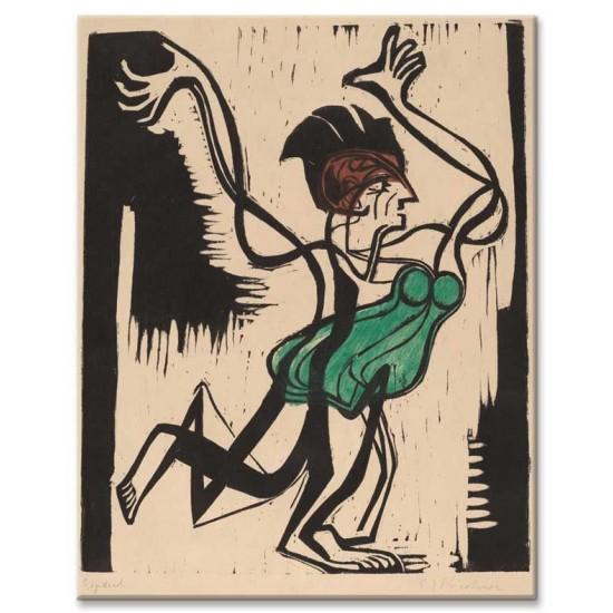 Ernst Ludwig Kirchner - Palucca, 1930