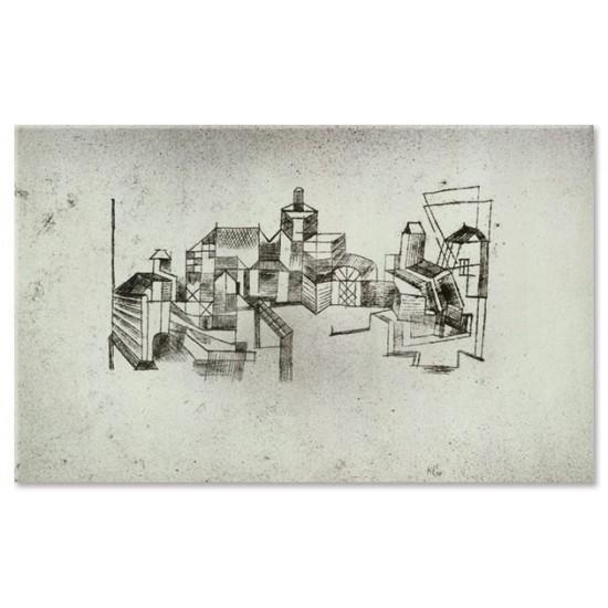 נוף של מבצר
