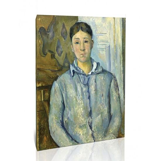 גברת סזאן בכחול