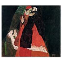 הקרדינל והנזירה (הליטוף)