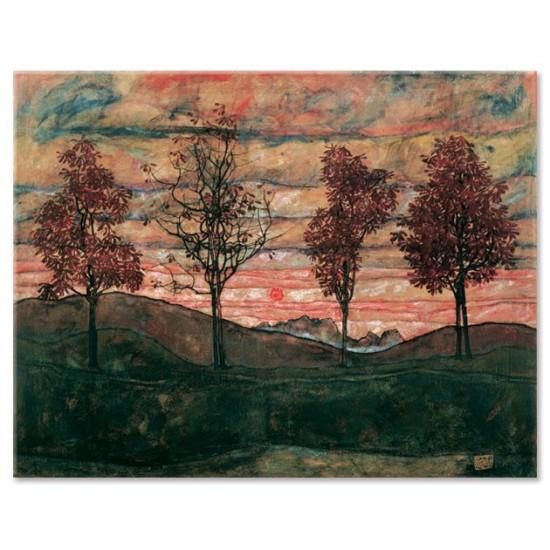 ארבעה עצים