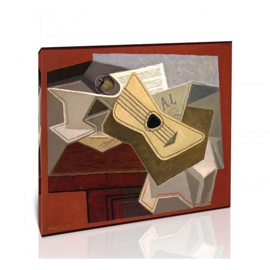 גיטרה ועיתון