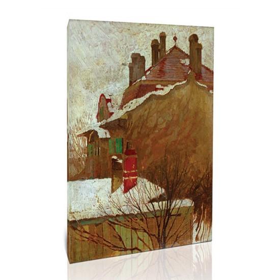 בתים בחורף