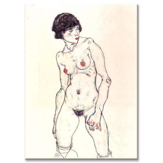 עירום נשי בגרביונים