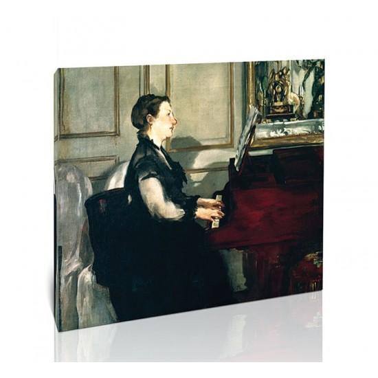 גברת מאנה ליד הפסנתר