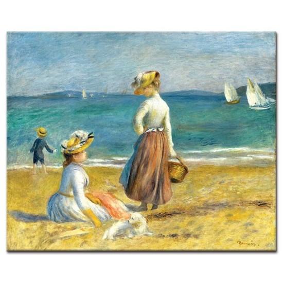 דמויות על החוף