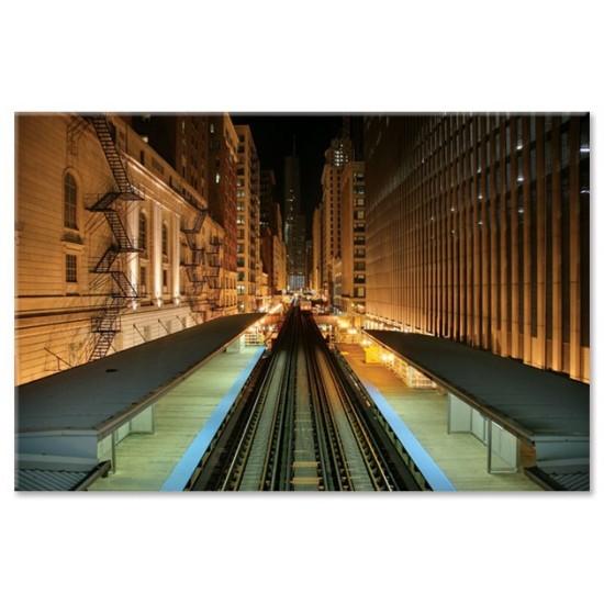 רכבת לילה, שיקגו