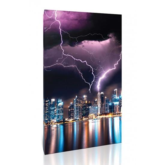 ברק מעל סינגפור