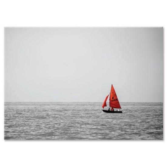 סירה אדומה