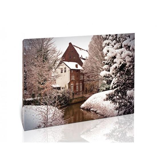 שלג בהולנד