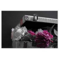 פרחים במזוודה