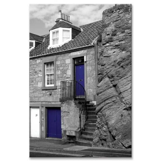 שתי דלתות כחולות