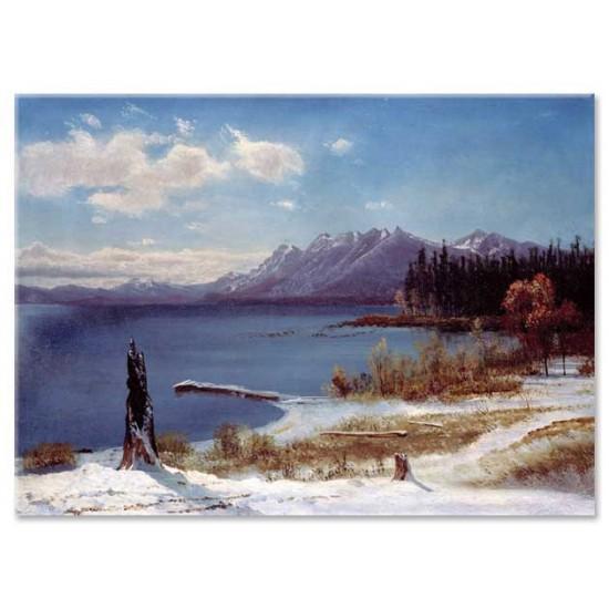 אגם טאהו בחורף