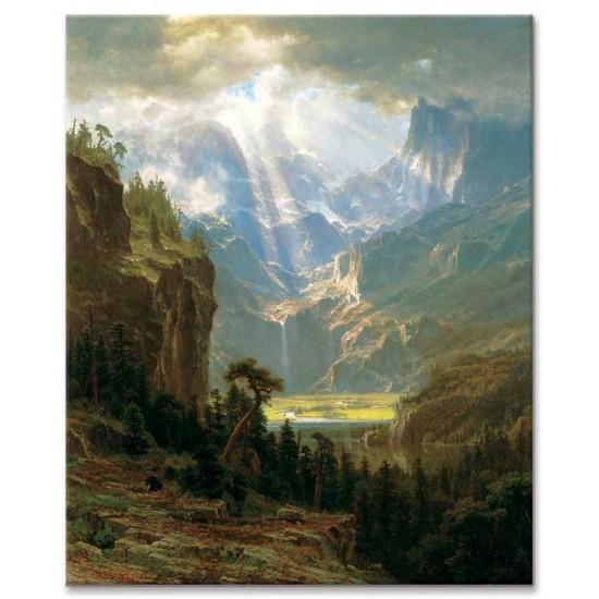 לנדרס פיק, הרי הרוקי