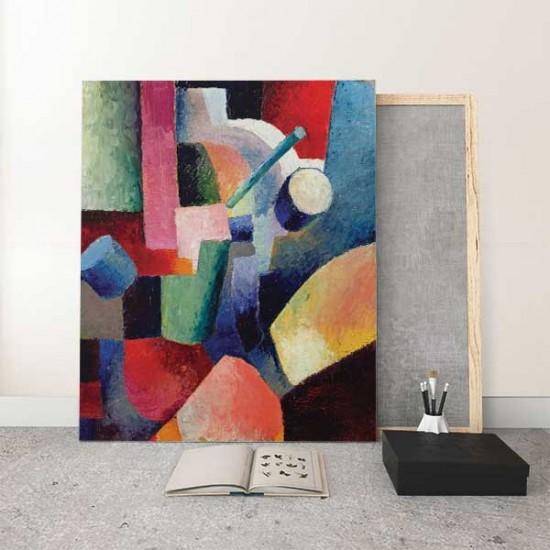 קומפוזיציה של צורות וצבעים