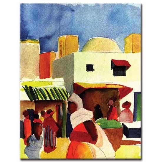 שוק באלג'יר