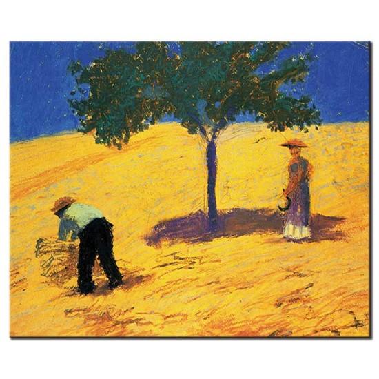 עץ בשדה התבואה