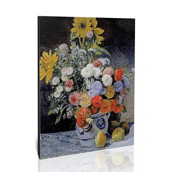 פרחים מעורבים בכלי חרס