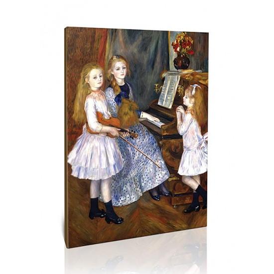 הבנות של קטול מנדס ליד הפסנתר