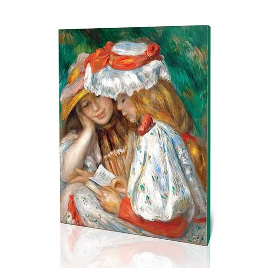 שתי בנות קוראות